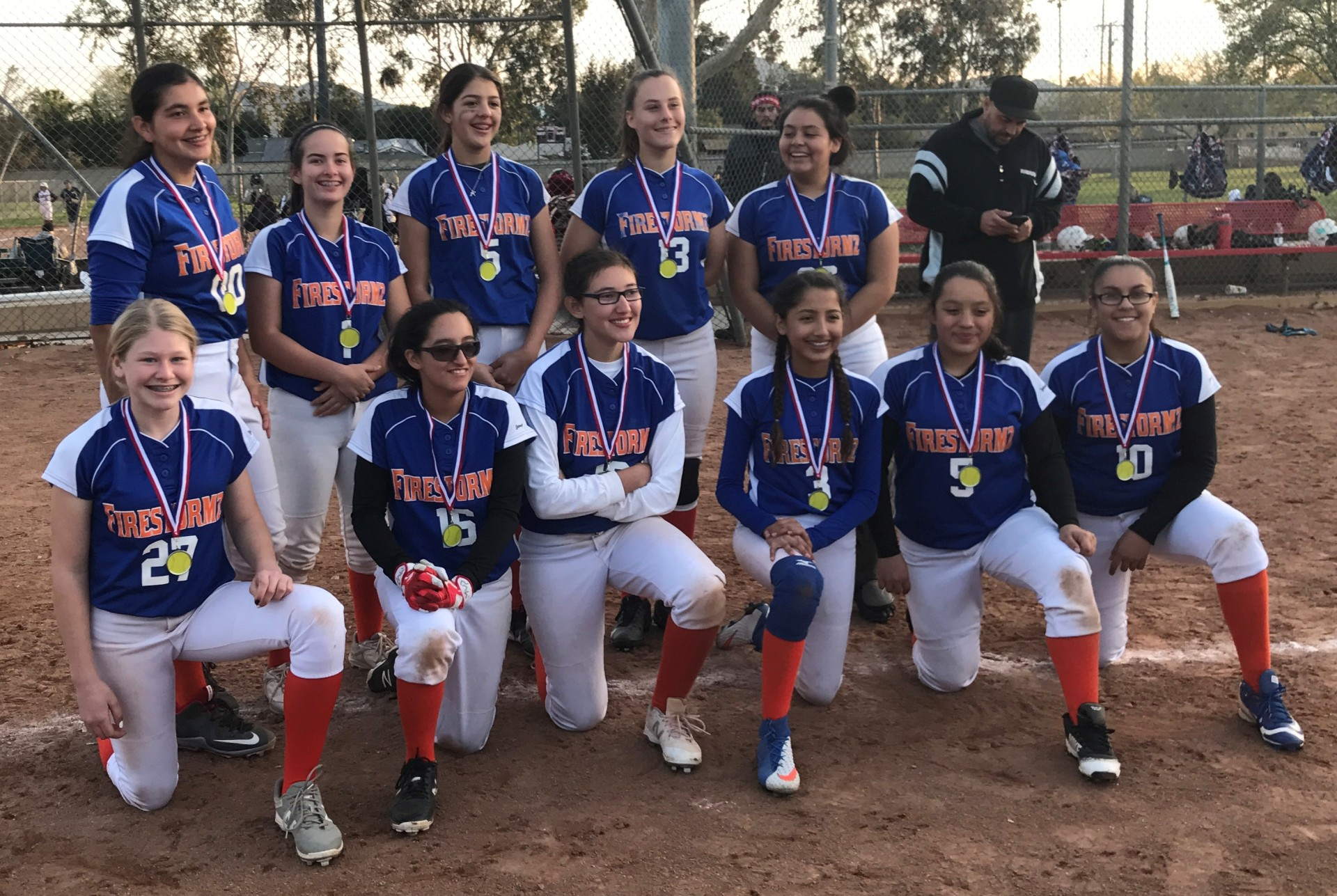 14u - Runner Up - Firestormz - Pena