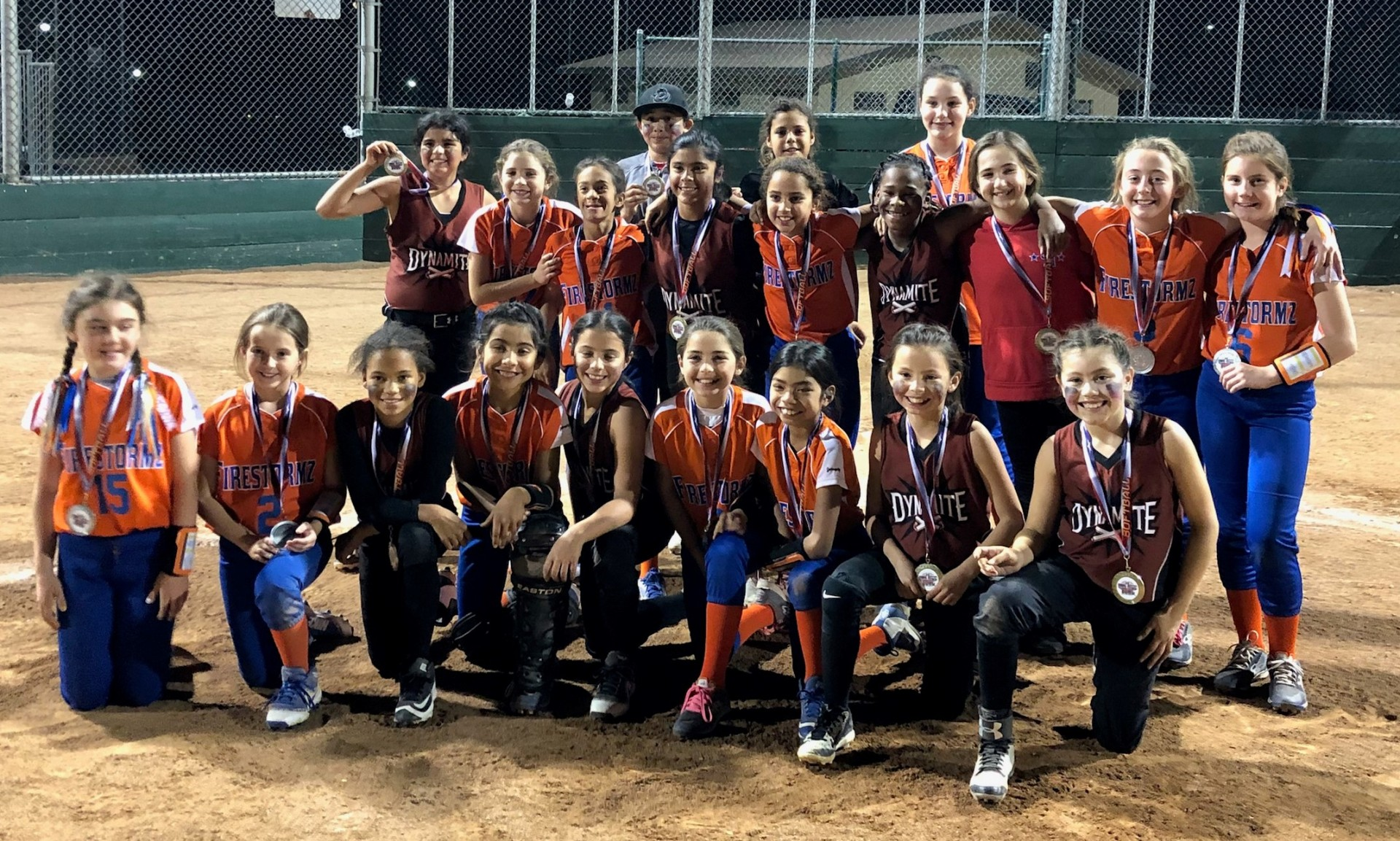 10u - 1st SGV Dynamite - Runner Up - Firestormz - Bragg