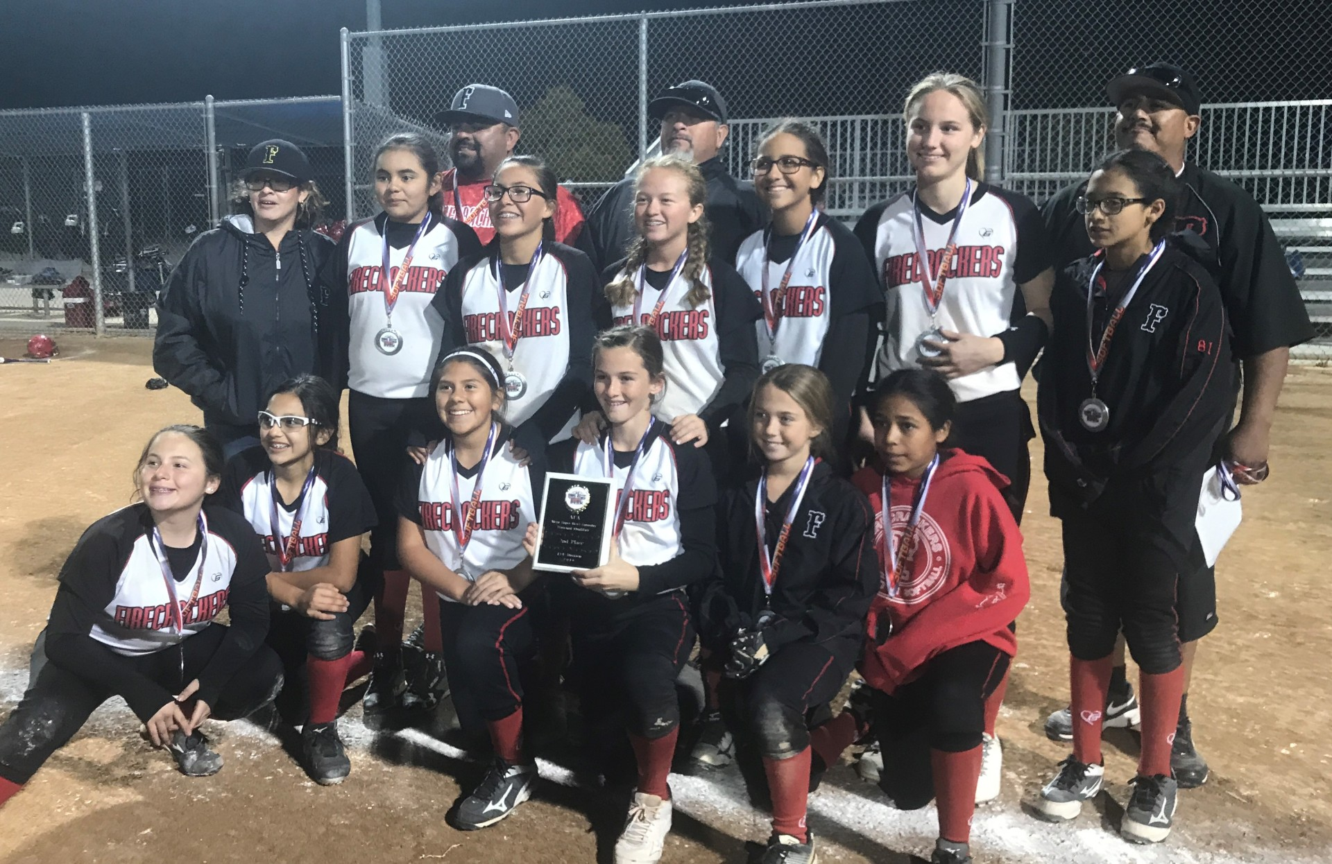 12u - Runner Up - Firecrackers - Garcia