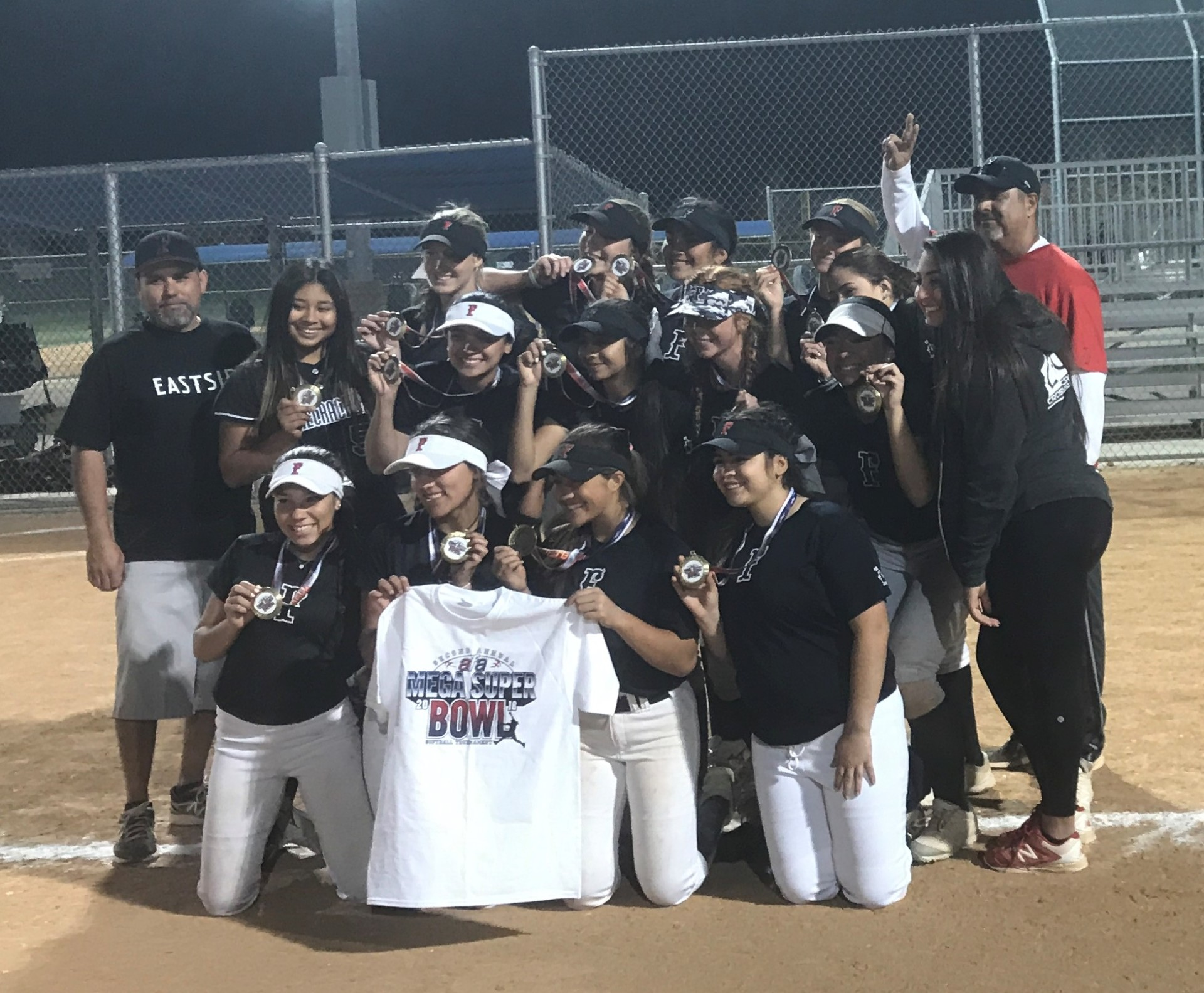 16u - 1st Place - Firecrackers - Eastside