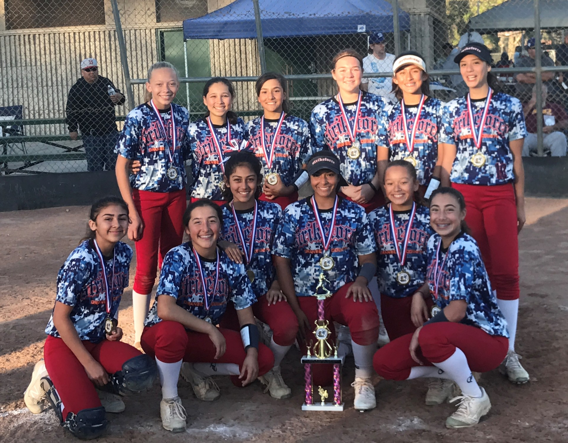 14u - 1st Place - OC Strikeforce - Adams