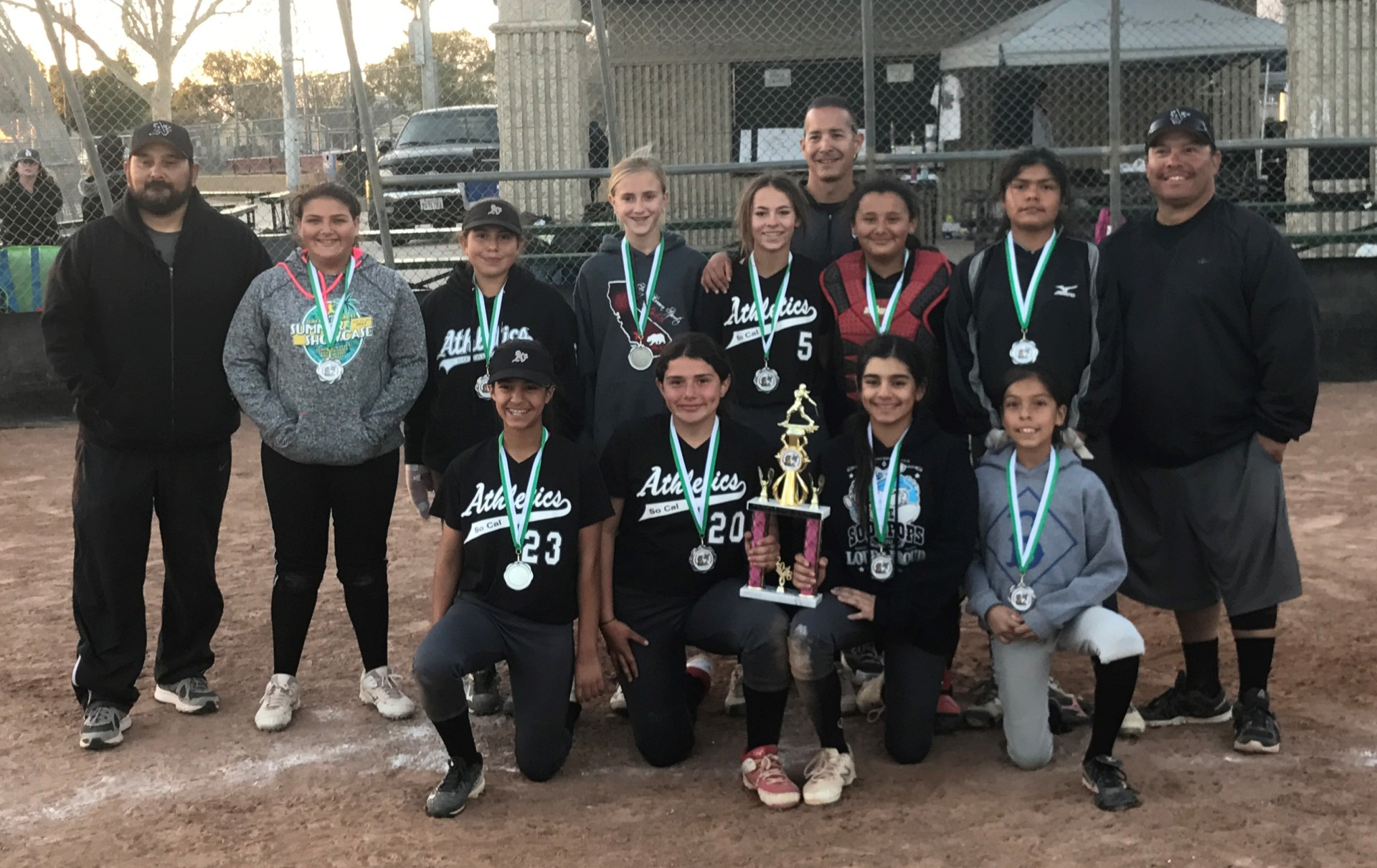 12u - Runner Up - So Cal Athletics 2023