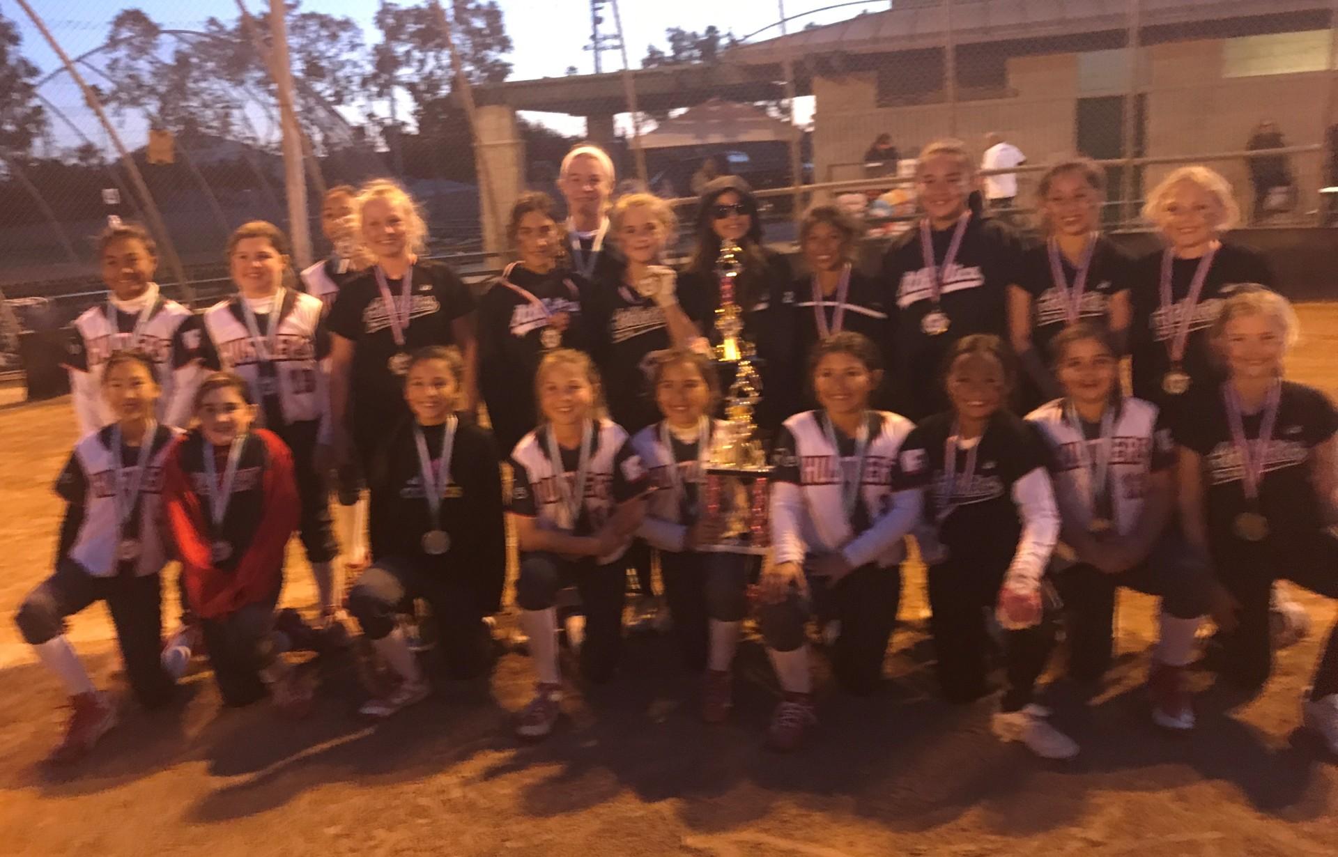 10u -  So Cal Athletics - Medina/Kingery and Lakewood Hustlers