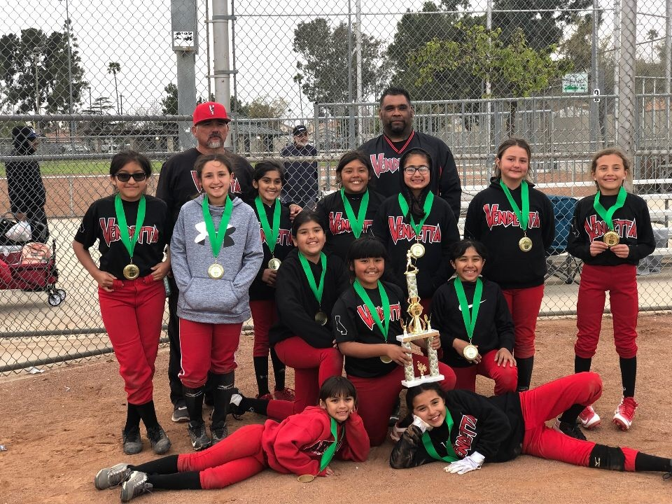 10u -  1st Place - Vendetta