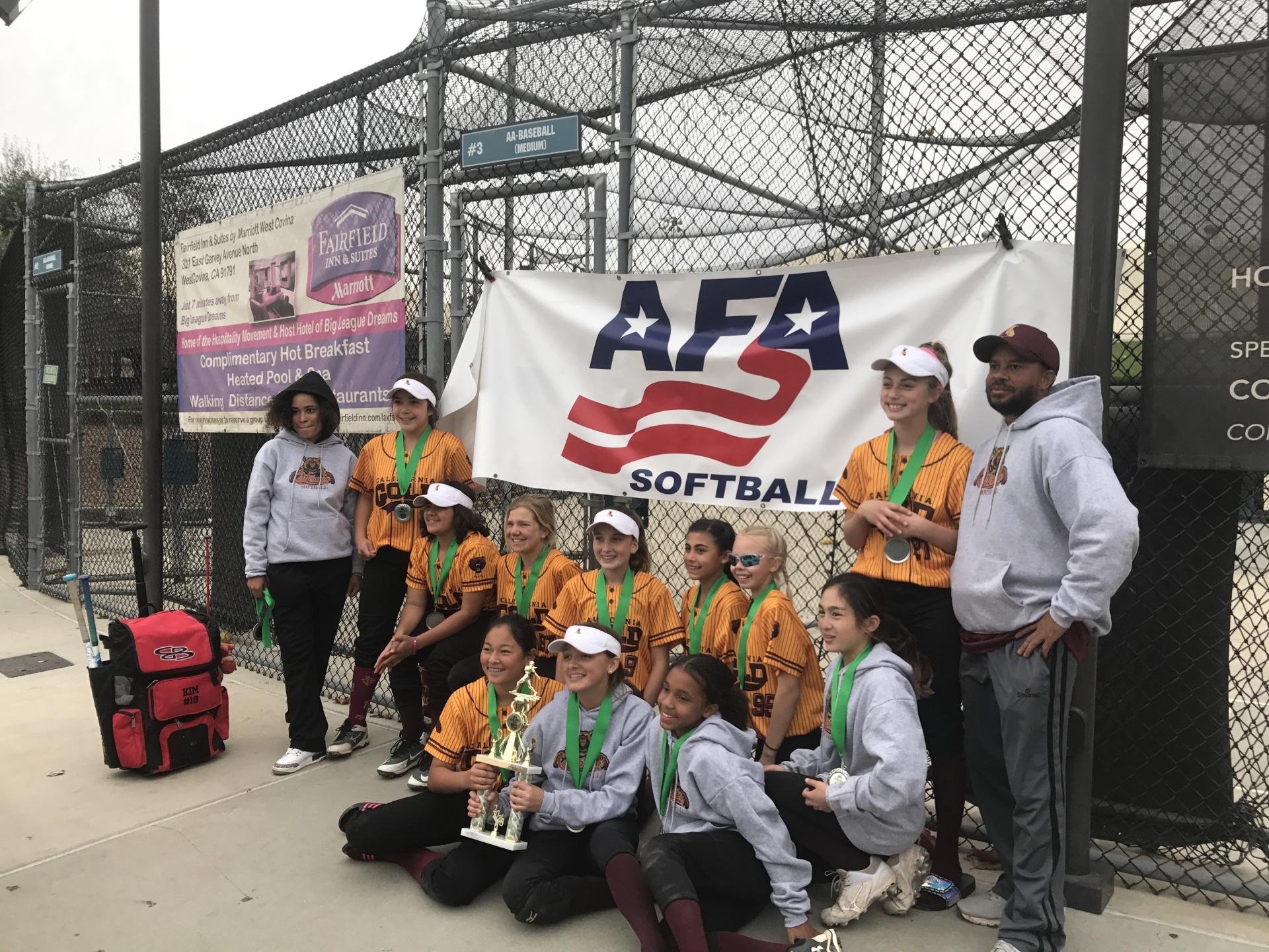 12u - Runner Up - California Gold