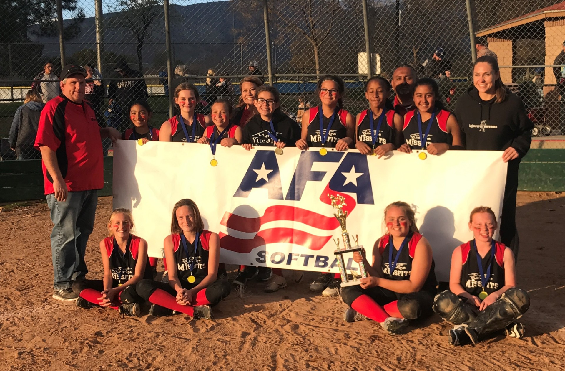 12u - 1st Place - Missfits