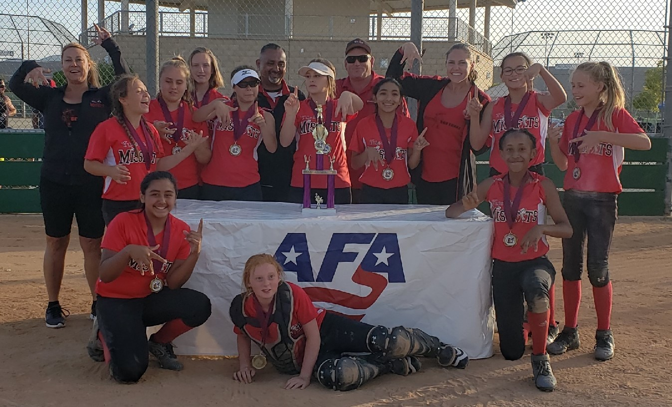 12u 1st Place - Missfits