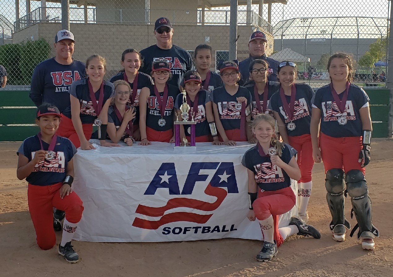 12u Runner Up - USA Athletics - Kmett
