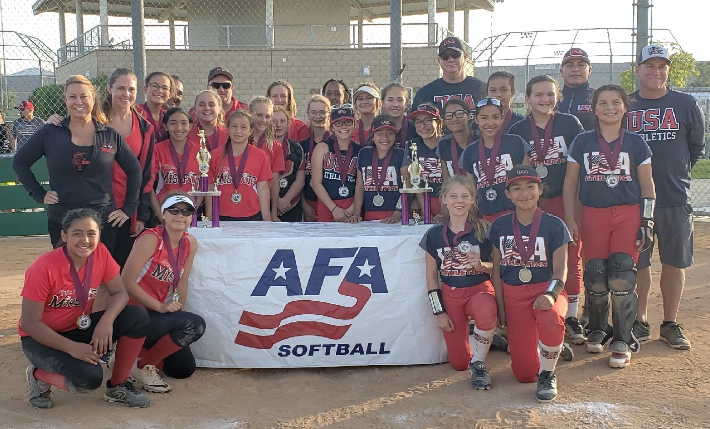 12u - Missfits and USA Athletics - Kmett