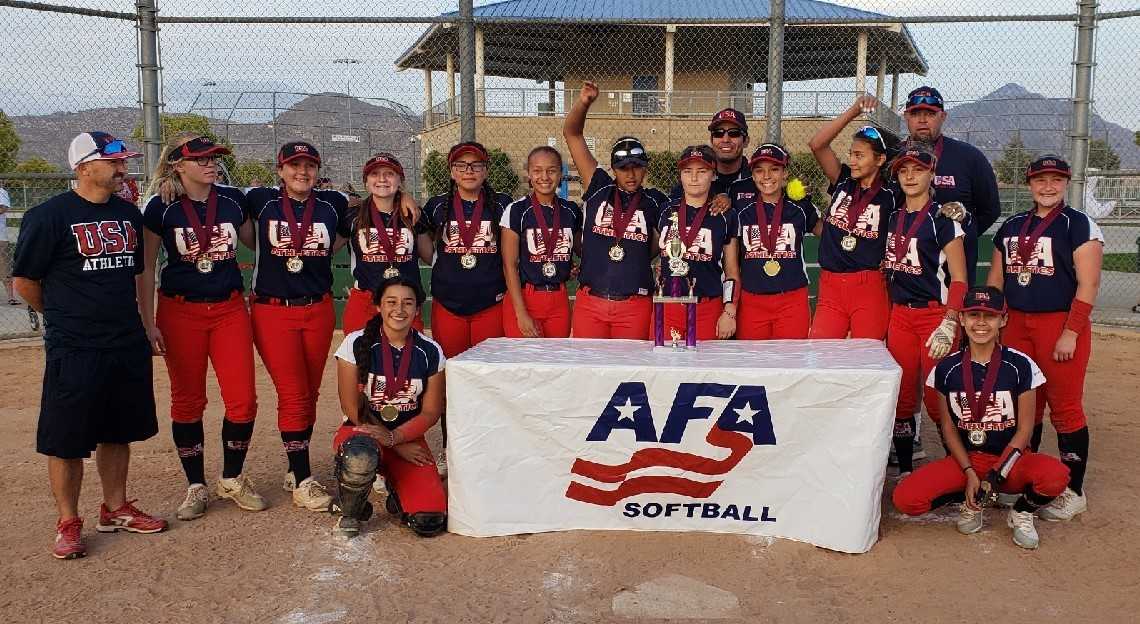 14u 1st Place - USA Athletics - Sanchez