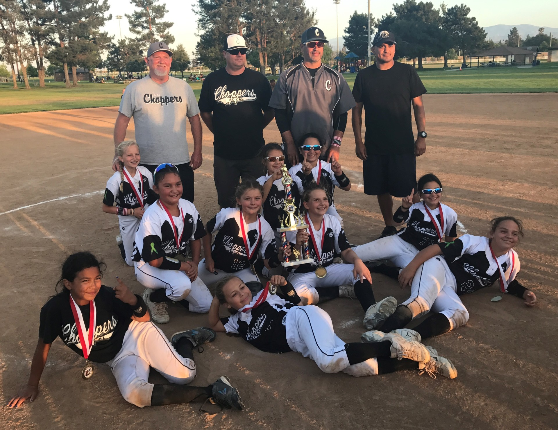 10u Silver - 1st Place - So Cal Choppers