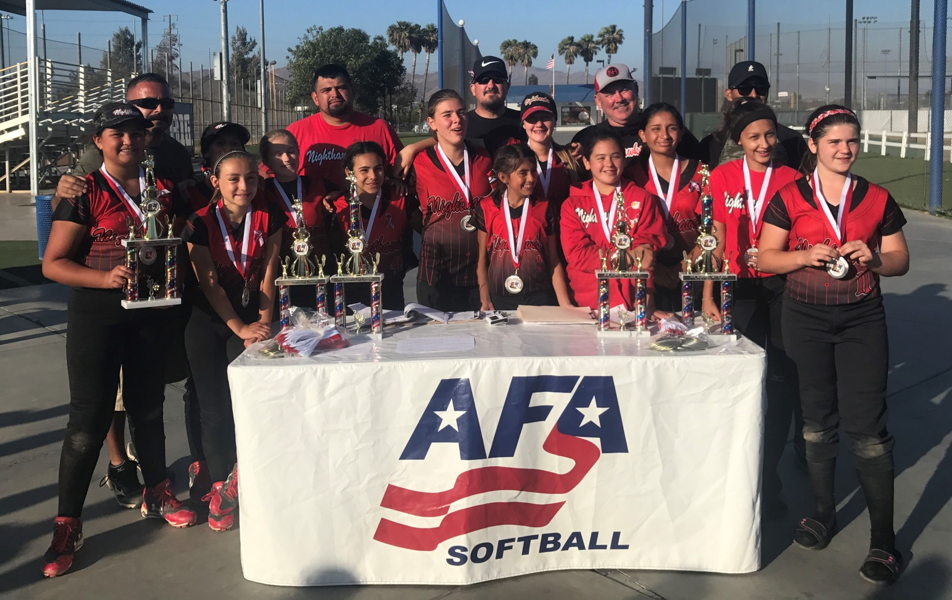 12u - Runner Up - So Cal Nighthawks - Castro
