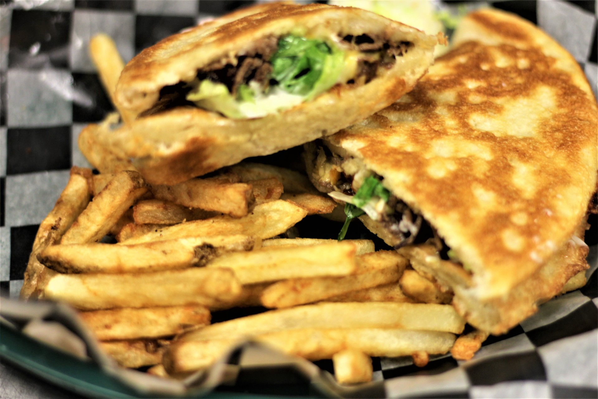 Philly Steak and Cheese Wedge