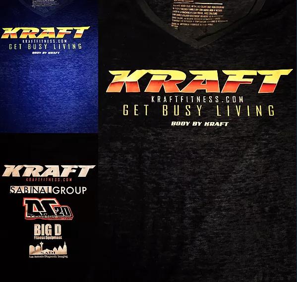 Body By Kraft Tshirts