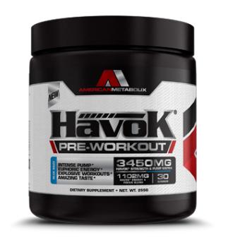 Havok Pre-Workout