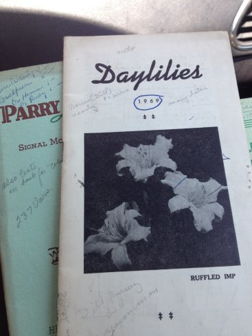 Old Daylily catalogs