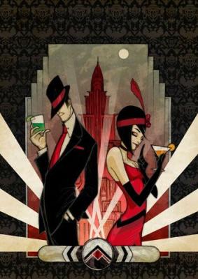 Murder mystery 1920s Sticky endings