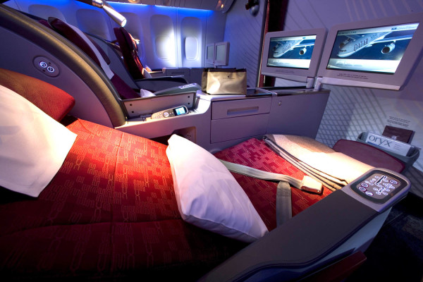 Relax in first class during your travels with our comfortable seating.