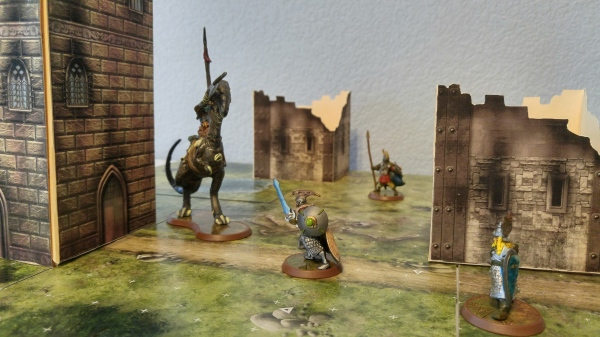 Battle is Joined at the Ruined Towers