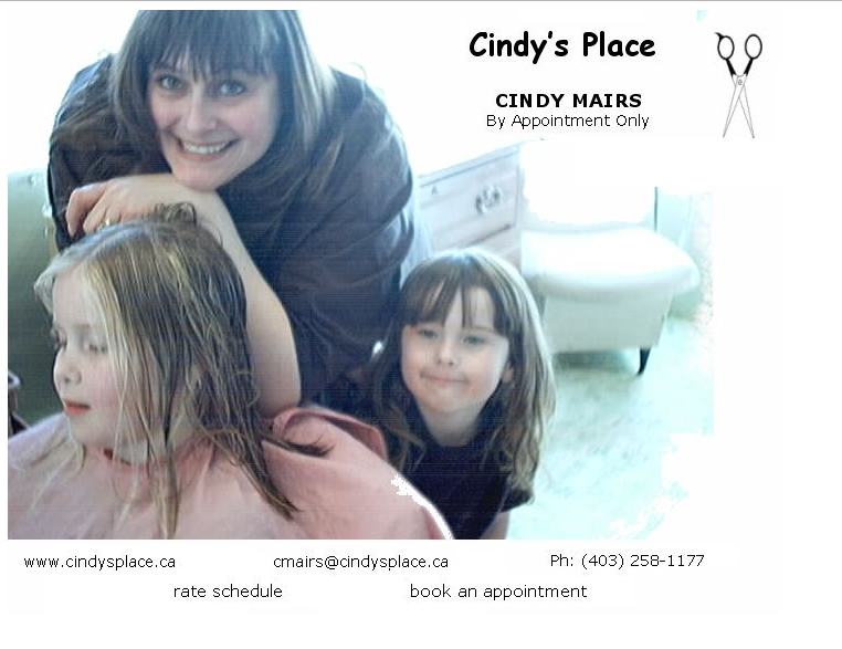 Link to Cindy's Place . C A