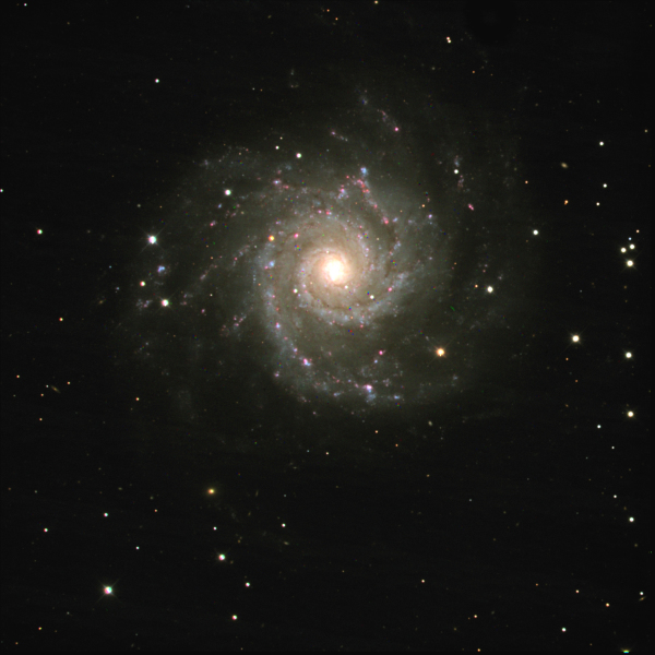Blog 36: The holiday wreath galaxy
