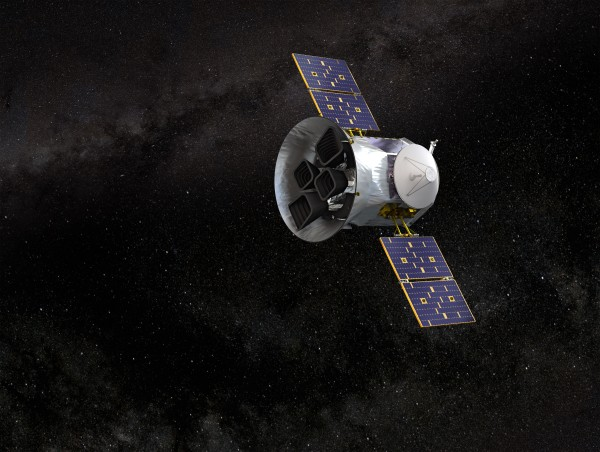 Blog 54: TESS is flying!