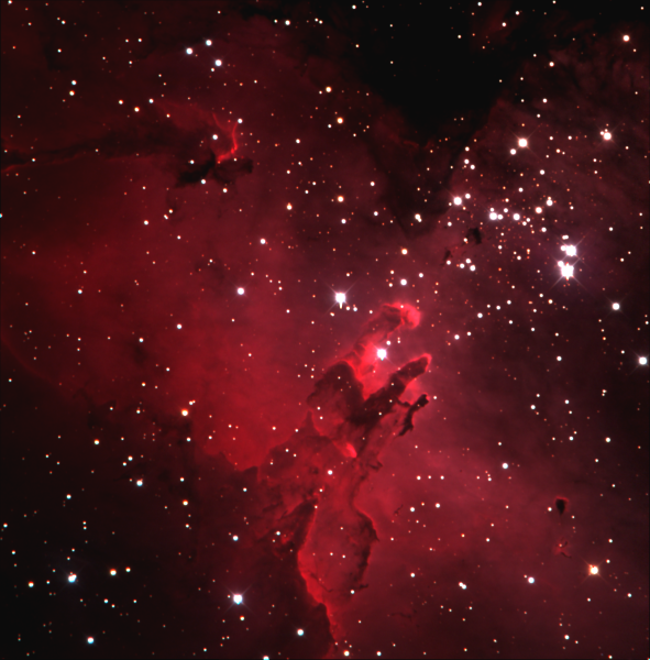 Blog 55: Visiting the Eagle Nebula with friends