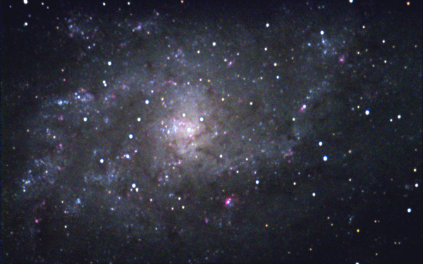 Blog 57: Messier 33, a hard-to-see giant