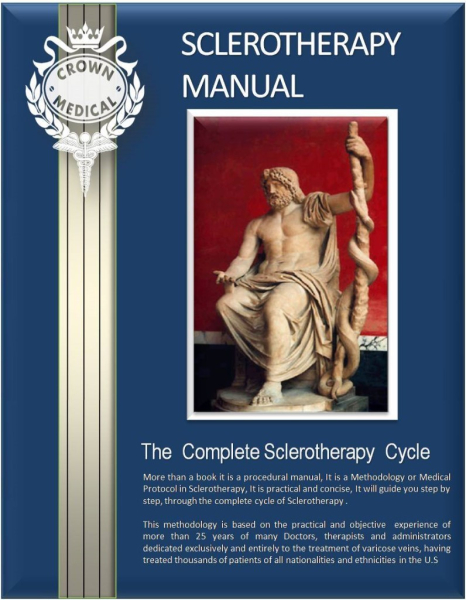 1.-   The Sclerotherapy  Manual ( 435 Pgs)
