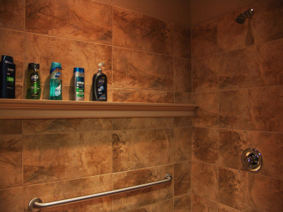 You'll enjoy use of one of our private showers.