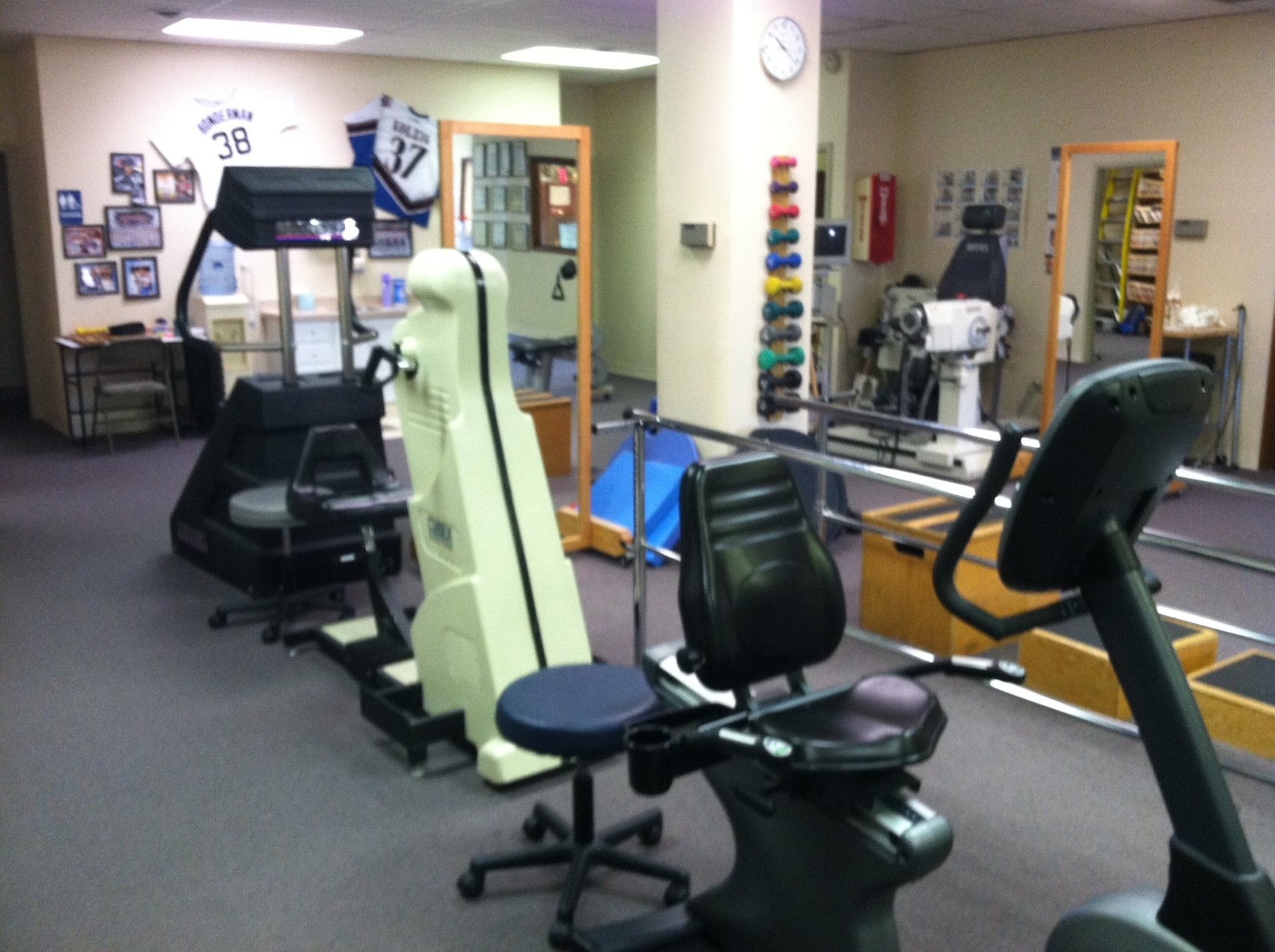 Summit Physical Therapy Gym