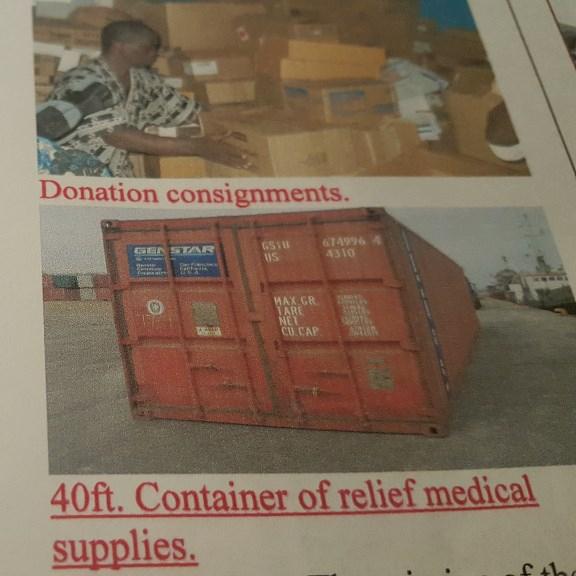 Medical Donation.