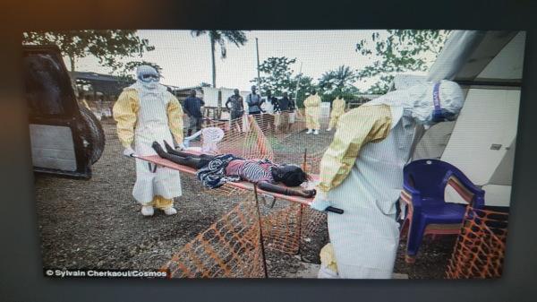 Victims of Ebola...