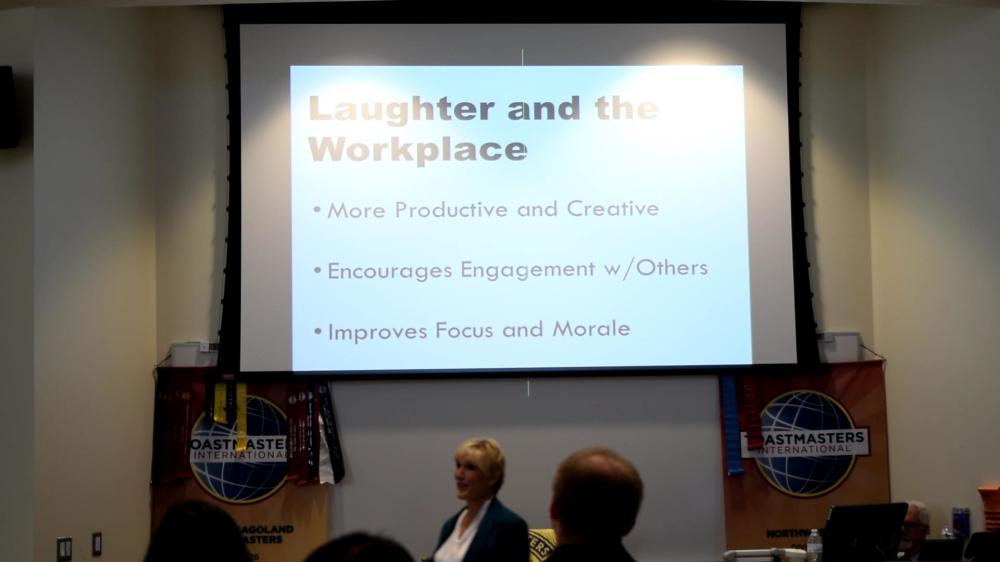 "Edutainer Sally Edwards ""Laugh to Wellness"""