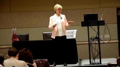 Speaker and Comedian Sally Edwards - Health and Laughter