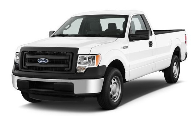 1990 ~ 2017 Ford F-150 F150 Bulb Size Guide