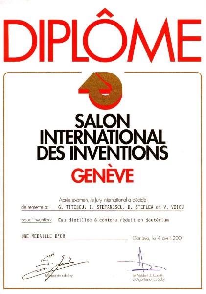 QLARIVIA  International Recognition