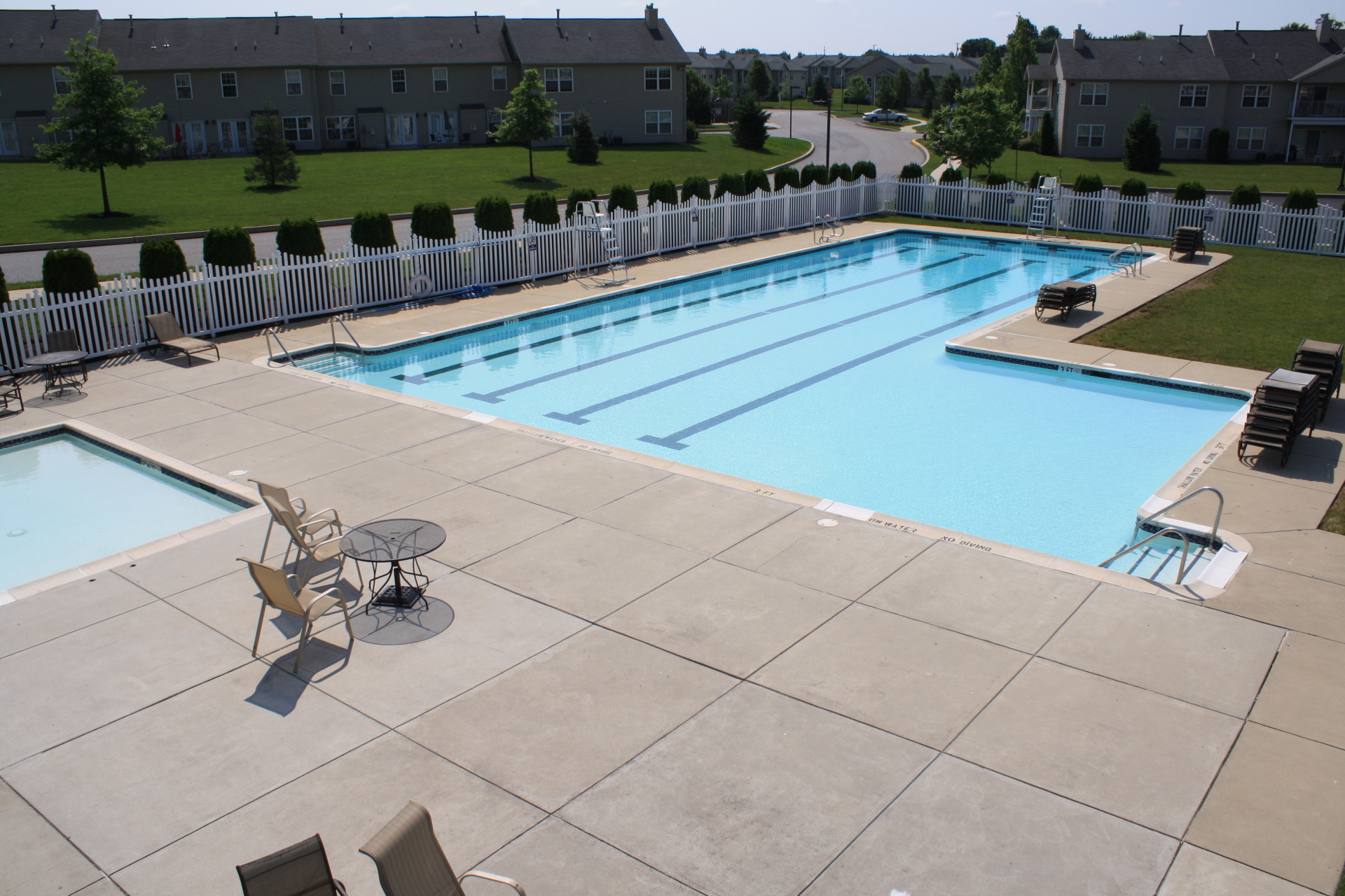 Hershey townhome recreational areas
