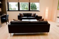 Harrisburg Loft studio living room