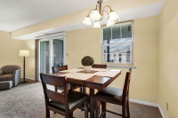 Short term apartment dining room in Wilkes-Barre PA
