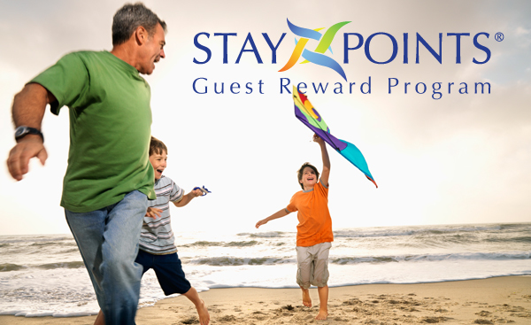 Earn reward points with Contemporary Short Term Housing