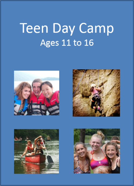 State College Teen Day Camp