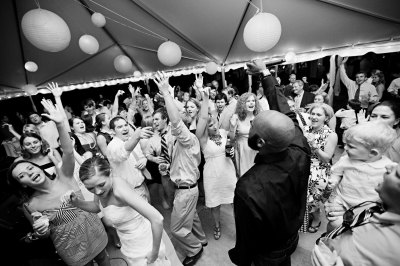 Employees Dancing at a Corporate Party in Denver