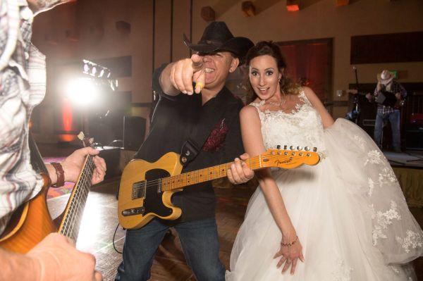 Narrow Gauge performing as a Denver Wedding band
