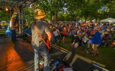 Denver Band Narrow Gauge entertains corporate fans