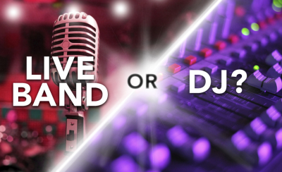 What's a Bride to do? Hire a DJ or a Colorado Wedding Band?