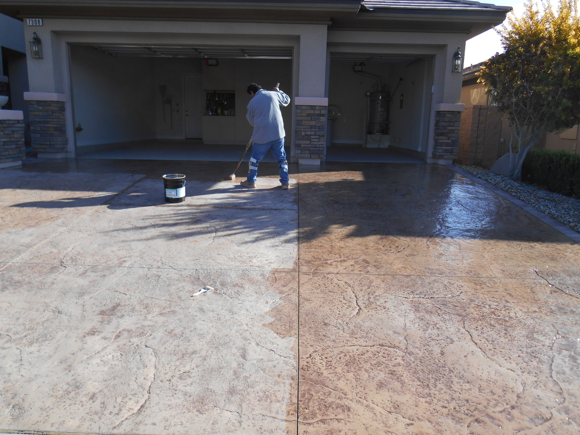 Walkway and Driveway Surfaces
