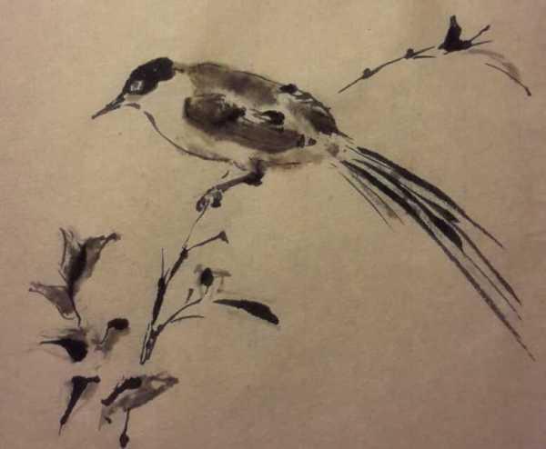 Copy of Emperor Huizong's bird