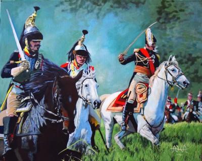 French dragoons, napoleon, cavalry