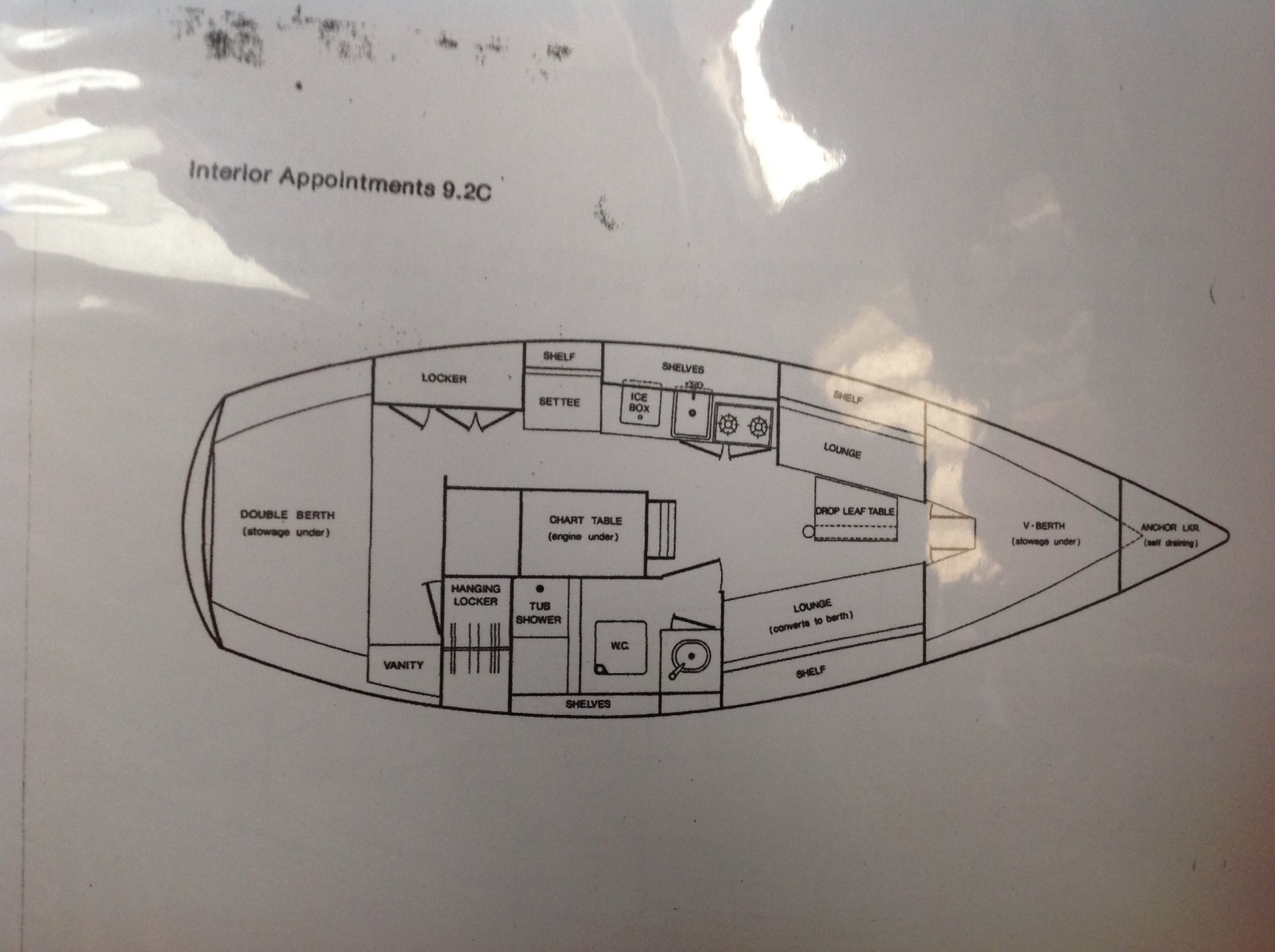 Floor Plan of our S2 9.2C